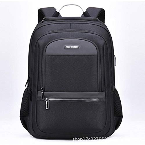 N\C Computer Bag, Business, Leisure, Commuter, Water-repellent Backpack, Male Oxford Cloth Large-capacity School Bag