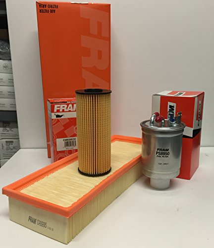 Filterservice FRAM voor Seat Cordoba II/Ibiza III 1.9SDI / TDI vanaf bouwjaar 2001