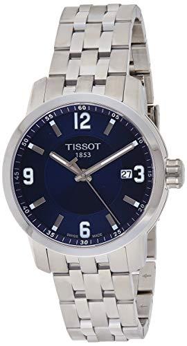 Tissot PRC 200 orologio da donna al quarzo in acciaio inossidabile quadrante blu T0554101104700