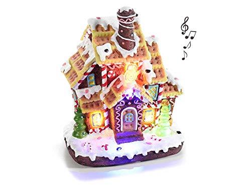 Grupo Maruccia - Caja de música navideña con luces y sonidos en...