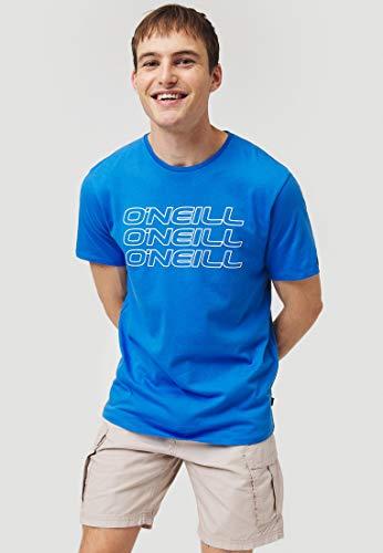O'NEILL LM 3ple T-Shirt à Manches Courtes pour Homme M Bleu (Ruby Blue)