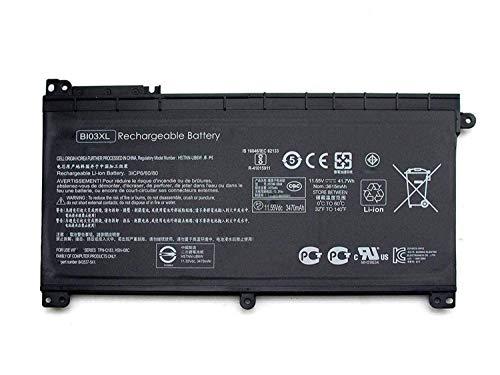 BI03XL HSTNN-LB7P HSTNN-UB6W 843537-541 Reemplazo de la batería del portátil para HP Pavilion X360 M3-U 13-U M3-U001DX M3-U103DX 13-U100TU 13-U100TU 13-U118TU Stream 14-AX 14-ax010nr(11.55V 41.7Wh)