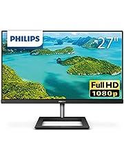 PHILIPS モニターディスプレイ 271E1D/11 (27インチ/IPS Technology/FHD/5年保証/HDMI/D-Sub/DVI-D/フレームレス)