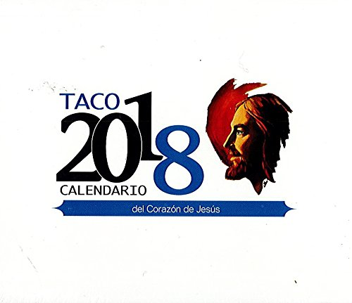 TACO CALENDARIO S.C. 2018 de mesa sin soporte