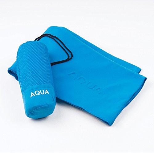 Sancarloss microvezel handdoek Aqua