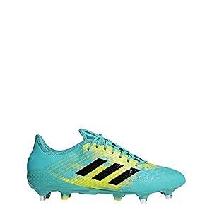 adidas Predator Malice Control (sg), Men's Rugby Shoes, Blue (Hiraqu/Cblack/Shoyel Hiraqu/Cblack/Shoyel), 12.5 UK (48 EU) by adidas