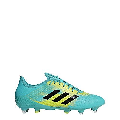 Adidas Predator Malice Control (SG), Zapatillas de Rugby para Hombre, Multicolor (Agalre/Negbás/Amasho 000), 41 1/3 EU