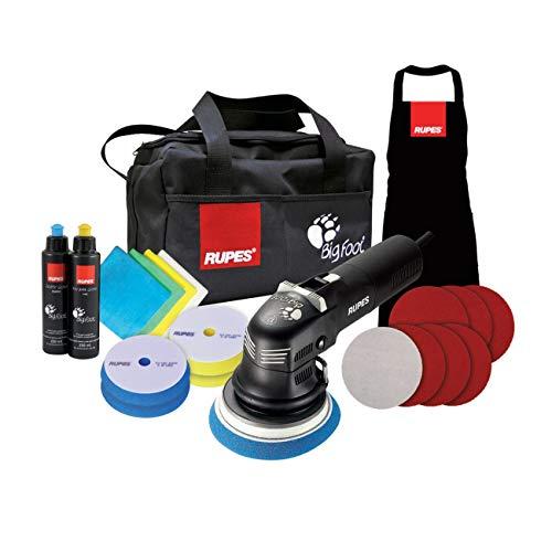 Rupes LHR12E DLX Kit Car Polisher (Rupes Duetto 12mm car polisher Deluxe) Black 220v EU Plug