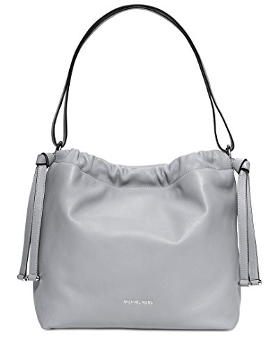 """15""""W X 12.5""""H X 6""""D Adjustable Strap: 13""""-20"""" Interior: 1 Zip Pocket, 2 Utility Pockets, 1 Slip Pocket, Key Clip Magnetic Snap Fastening Made of Leather, Lining: 100% Polyester"""
