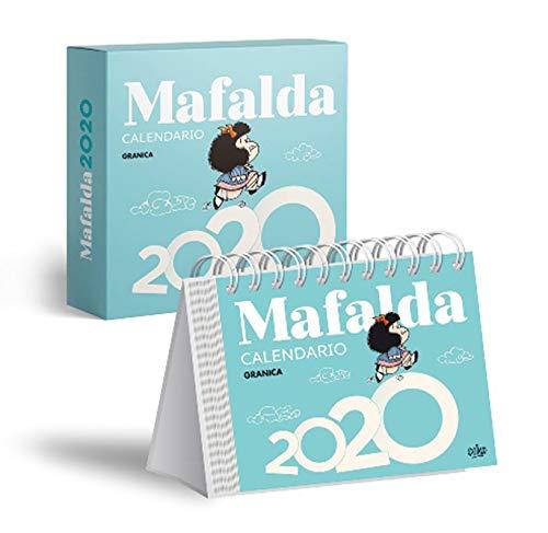 Mafalda 2020 calendario caja (azul)