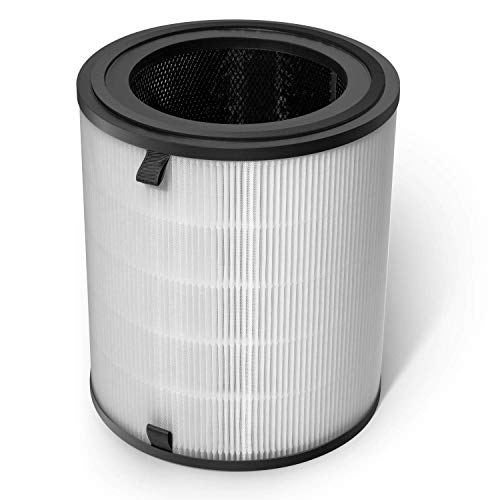 LEVOIT 3-in-1 Tower Replacement Filter for LV-H133 Air Purifier, Premium True HEPA & Activated Carbon Filters Set, LV-H133-RF