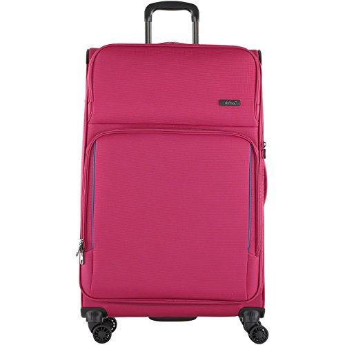 D&N Travel Line 7904 Koffer, 79 cm, 107L, Pink