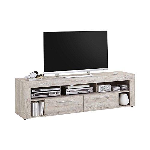 FMD furniture Lowboard, Spanplatte, Sandeiche, ca. 180 x 53 x 40 cm
