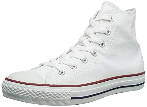 Converse Chuck Taylor All Star Hi Seasnl - Zapatillas de baloncesto, color Blanco, talla 5.5 B(M) US Women / 3.5 D(M) US Men