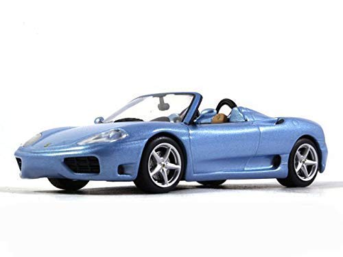 Ferrari 360 Spider Blue Color 1:43 Scale Diecast Model Sports Car 1999 Year