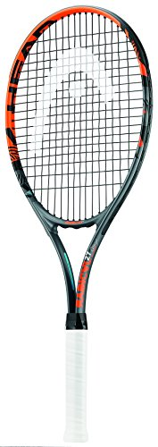 Head Radical 27, Racchetta da Tennis, Colore: Nero/Arancione, Grip 3
