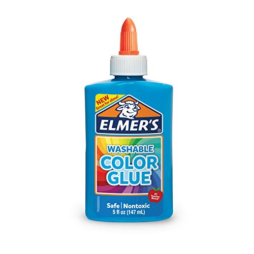 Cola Elmers Lavavel Para Slime 147ml Azul, Rosa, Roxa ou Verde (Azul)