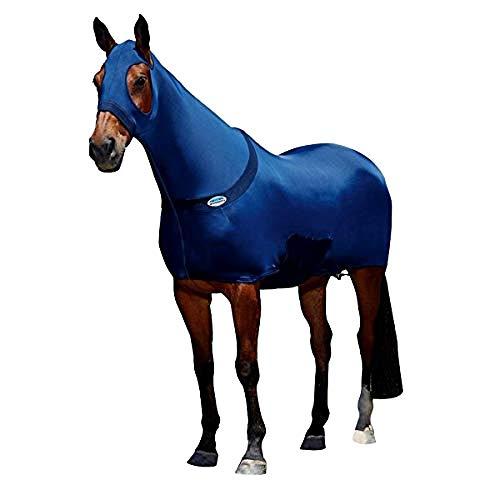 Weatherbeeta Stretch-Pferdedecke (Cob) (Marineblau)