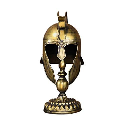 RSBCSHI Casco 27cm * 24cm * 53cm, dominación Retro, Casco de Caballero liviano y Duradero, Adecuado para la decoración de la colección