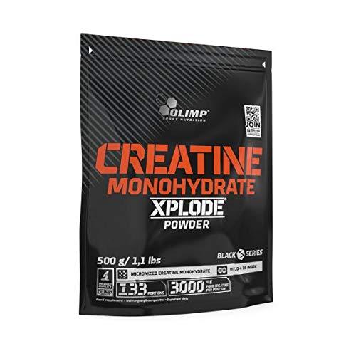 Olimp Creatine Monohydrate Xplode Powder (+ Natrium), 500 g Beutel (Zitrone)