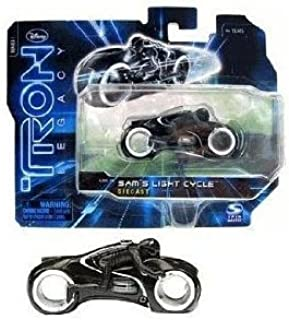 Tron Legacy Series 1 Die Cast Vehicle SAMS Light Cycle