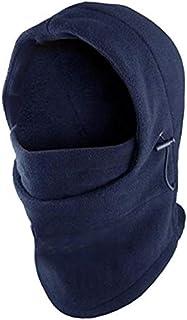 Headgear Hat Outdoor Wind Mask - Dark blue