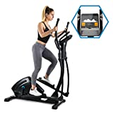 Capital Sports Helix Track Cross-Trainer mit Trainingscomputer Heimtrainer (Bluetooth,...