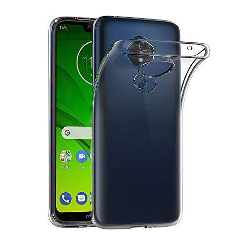 AICEK Hülle Compatible für Moto G7 Power Transparent Silikon Schutzhülle für Motorola Moto G7 Power Case Clear Durchsichtige TPU Bumper Moto G7 Power Handyhülle (6,2 Zoll)