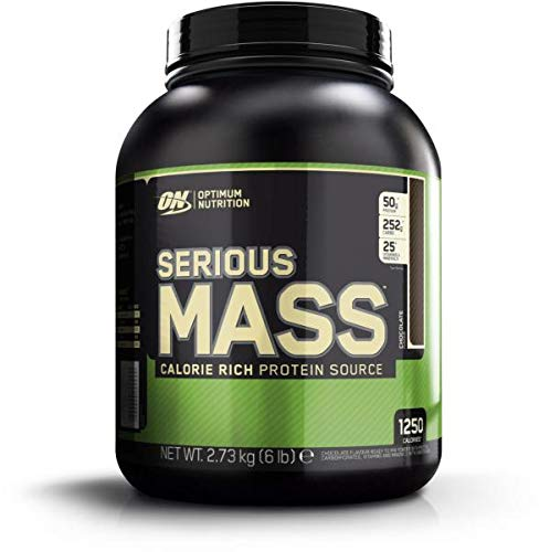 Optimum Nutrition Serious Mass, 6 LB Dose (Chocolate)