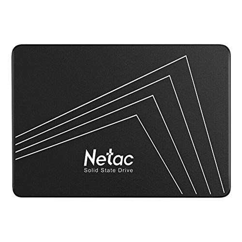 "Netac Internal SSD, Disco Duro Estado sólido Interna 128GB, Internal SSD, 3D NAND Flash Unidad, 2.5"" SATAIII 6Gb/s, hasta 510MB/s, para Notebook, Tableta, computadora, PC"