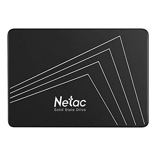 Netac SSD 500 GB, Disco Duro sólido Interno, Estado sólido Interna, hasta 530 MB/s, 2.5' SATA, 3D NAND Flash Internal SSD, tabletas, Ordenadores de sobremesa,...