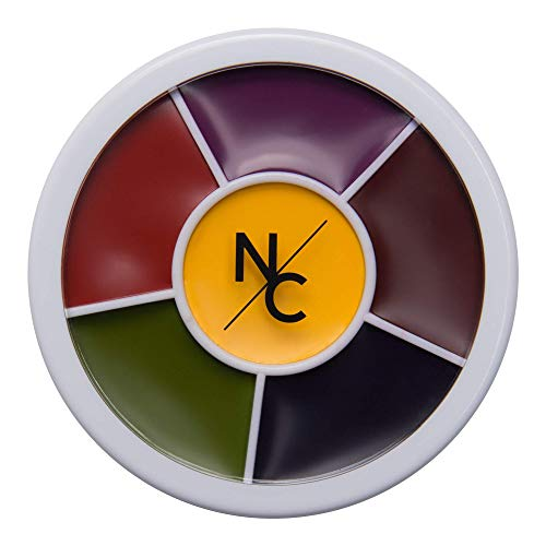 Narrative Cosmetics 6 Color Bruise Wheel for Special Effects, Theatrical Makeup and Halloween