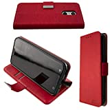 caseroxx Bookstyle-Case for Emporia Smart 3 in red