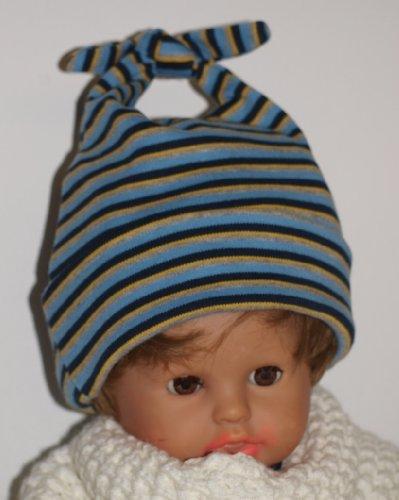 Superweiche Baumwoll Baby Mütze