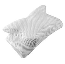 powerful Contoured neck pillow for neck and shoulder pain, orthopedic pillow pillow Coisum…