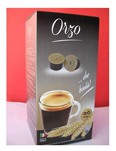 """120 Capsule Espresso Cap Nuovi Gusti\"""" Orzo\"""" Compatibilità Squesito"""