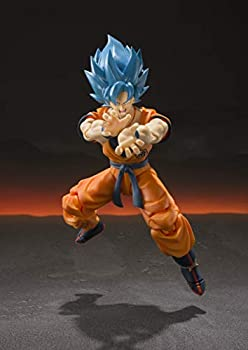 TAMASHII NATIONS Bandai S.H Figuarts Super Saiyan God Super Saiyan Goku Dragon Ball Super  Broly Action Figure