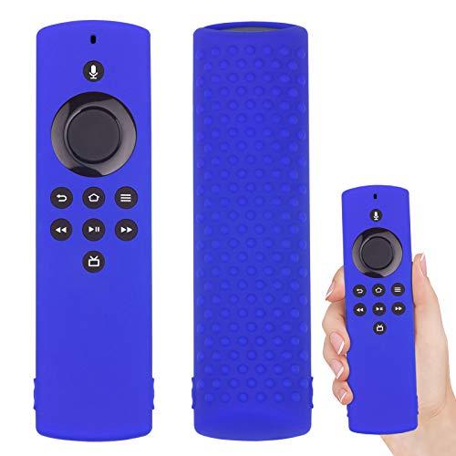 Custodia Protettiva Cover Compatibile con Fire TV Stick Lite Telecomando Antipolvere Anti-Goccia in Cover in silicone telecomando per Amazon Fire TV Stick Lite (Blu)