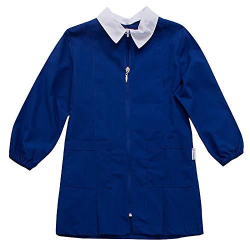 siggi Grembiule Scuola Maschio Colore Bluette con Lampo (12A-152CM)