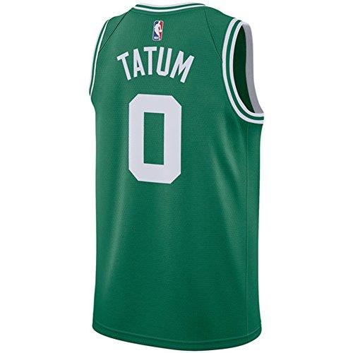 Tatum - Camiseta de manga corta para hombre, diseño de los Green Celtics Swingman, Hombre, verde, extra-large