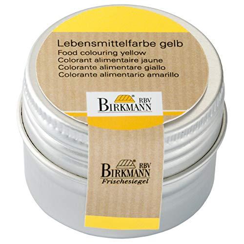 Birkmann 503038 Lebensmittelfarbe, konzentriertes Pulver, 10 g, gelb