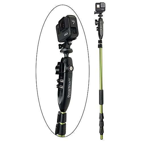 "YOLOtek GoPro Boat Mount PowerStick-53"" Gen4 [Stick Only] - Navigation Light mount compatible with GoPro & All Action Cameras."