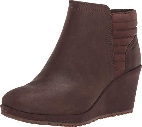 Merrell Women's Tremblant Wedge Bluff Waterproof Walking Shoe, Espresso - 10 M