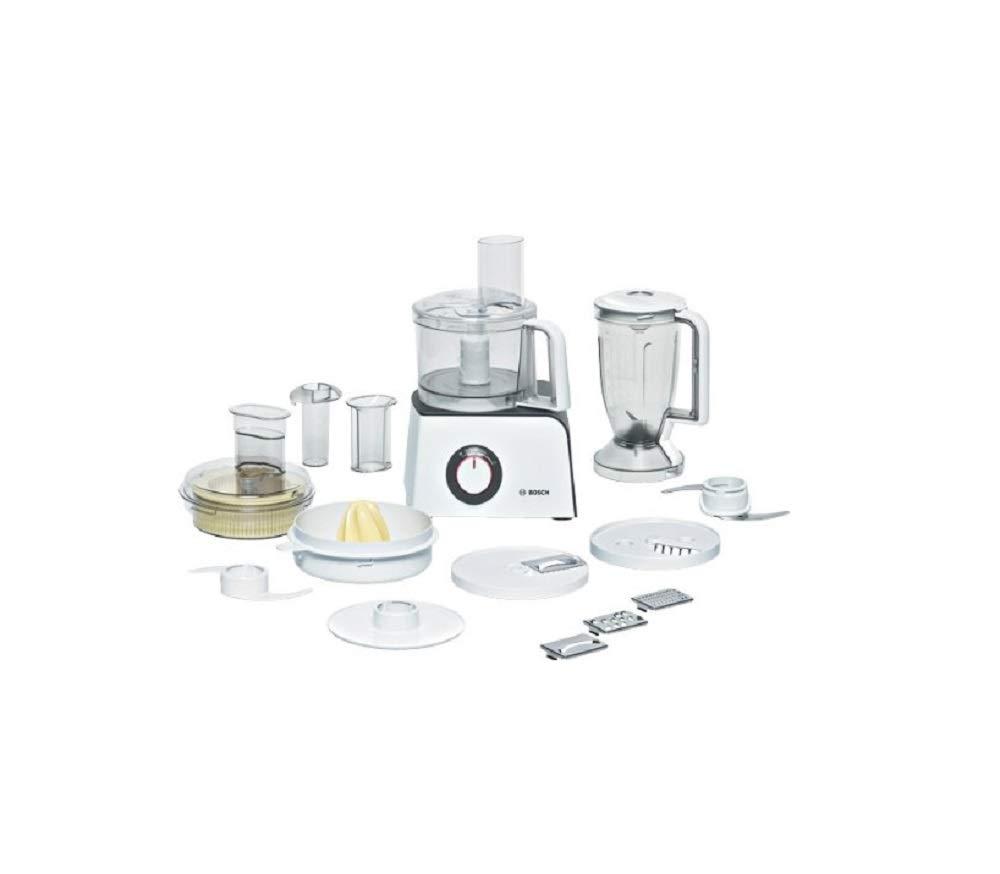 Bosch MCM4100GB - Robot de cocina (Color blanco, 5,42 kg, 39 cm, 21,5 cm, De plástico): Amazon.es: Hogar