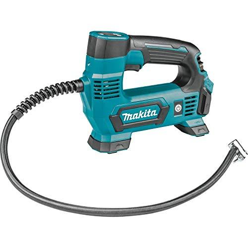 Makita MP100DZ Kompressor 12 V max. (ohne Akku, ohne Ladegerät) 8,3 bar, Blau, Silber, Size
