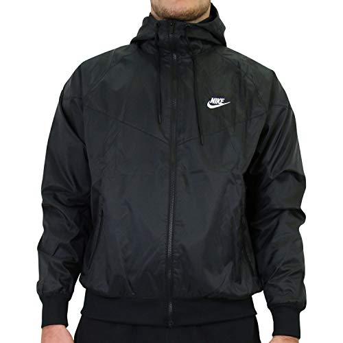 Nike Giacca da uomo He Wr Hd, Uomo, Giacca, DA0001, nero/bianco, L