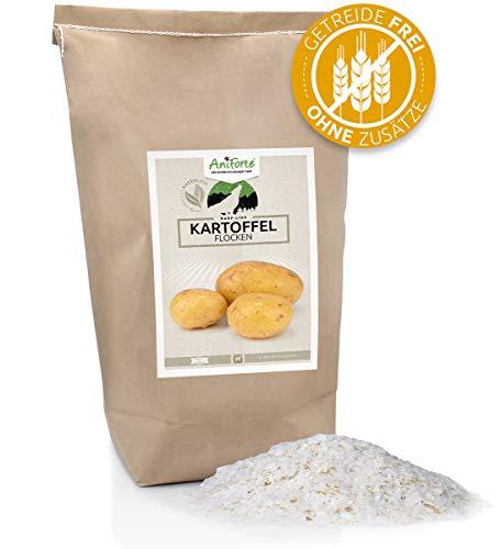 Copos de Patata para Perros (5Kg) | Dieta Barf para Perros | 100% Natural - Pre-cocido antes del secado | AniForte
