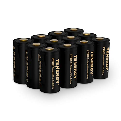 Arlo Certified: Tenergy Premium High Capacity 750mAh 3.7V Rechargeable Battery for Arlo Cameras (VMC3030/VMK3200/VMS3330/3430/3530), 12-Pack