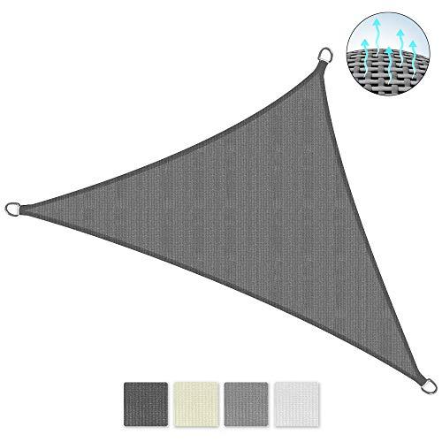 Sol Royal SolVision HS9 Vela de Sombra Toldo Parasol 700x500x500 cm HDPE Transpirable Antracita protección UV