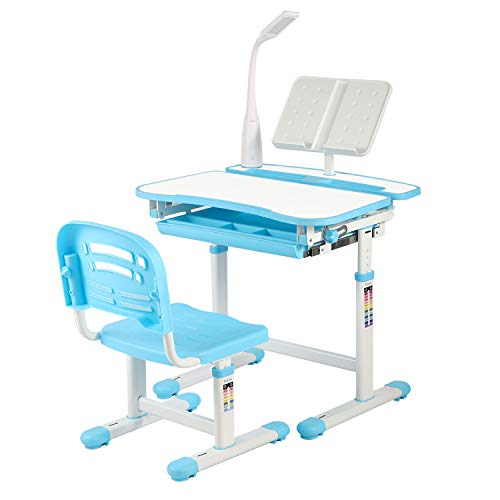 UNIHOM Kids Desk and Chair Set,H...